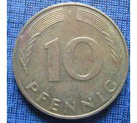 10 пфеннигов (1951–2001 г) Германия ФРГ