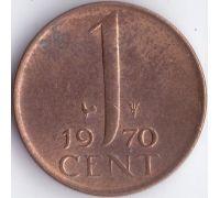 1 цент (1950–1980 г) Нидерланды