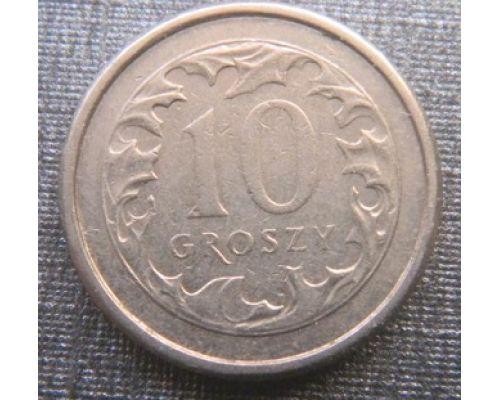 10 грошей 1990-2010 год Польша