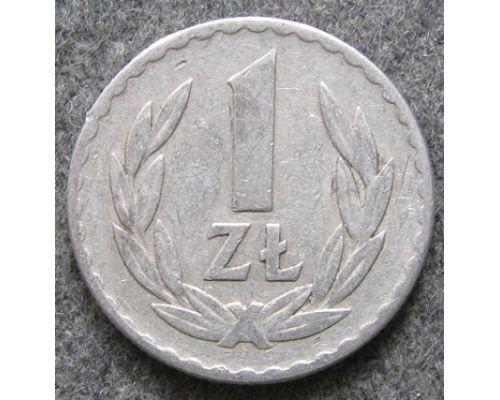 1 злотый 1949 год. Польша