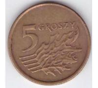 5 грошей 1990-2014 Польша