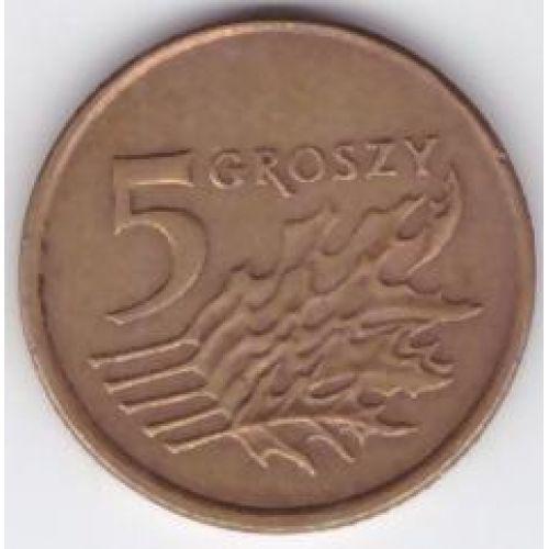 5 грошей 1990-2014. Польша