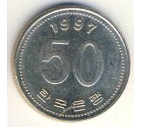 50 вон 1997 год Южная Корея