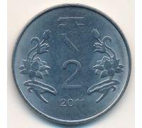 2 рупии 2011 год Индия
