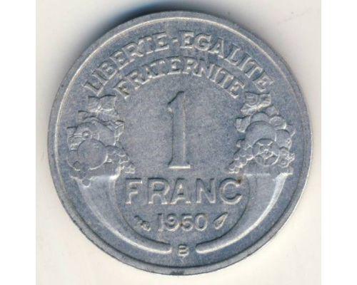 1 франк 1950 год Франция