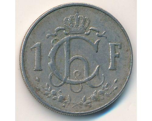 1 франк 1960 год Люксембург