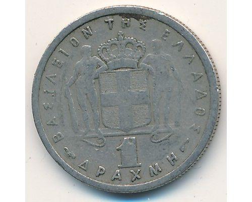 1 драхма 1957 год Греция