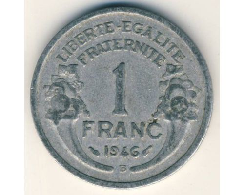 1 франк 1946 год Франция