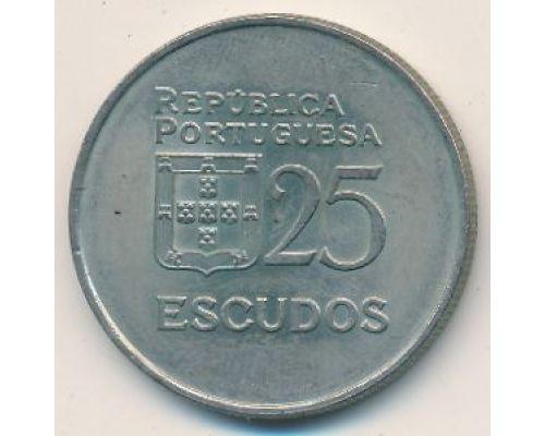 25 эскудо 1982 год Португалия Демократия