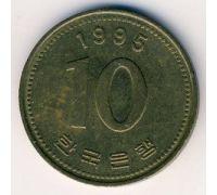 10 вон 1995 год Южная Корея