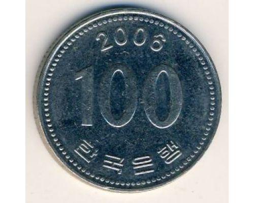 100 вон 2006 год Южная Корея Ли Сун-Син