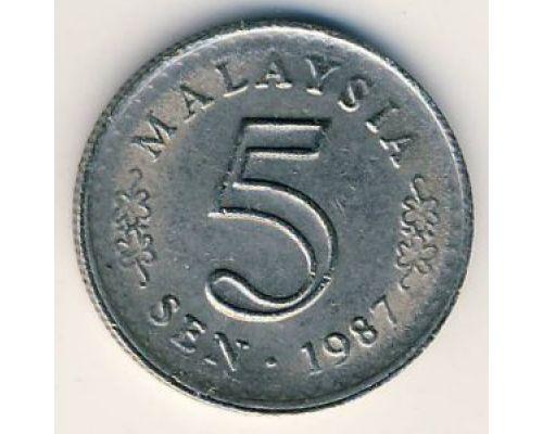 5 сен 1987 год Малайзия