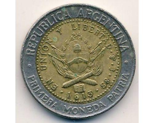 1 песо 1995 год Аргентина