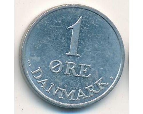 1 эре 1970 год Дания