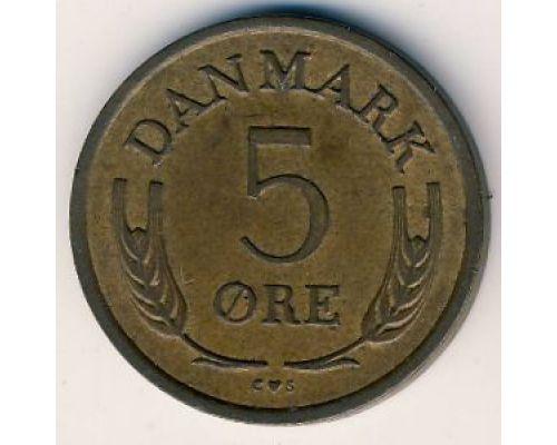 5 эре 1972 года Дания