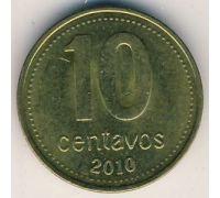 10 сентаво 2010 год Аргентина