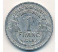 1 франк 1949 год Франция