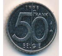 50 франков 1998 год Бельгия BELGIE