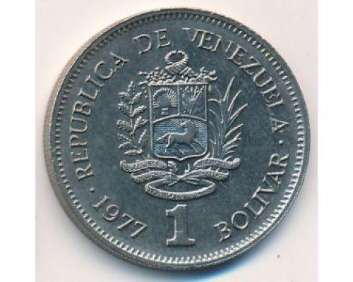 1 боливар 1977 год Венесуэла Симон Боливар