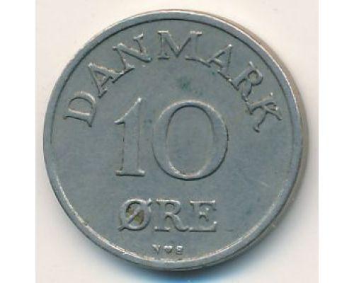 10 эре 1958 год Дания