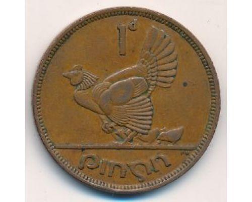 1 пенни 1943 год Ирландия Курица