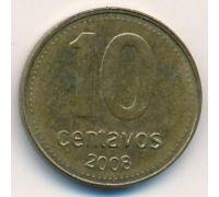 10 сентаво 2008 год Аргентина
