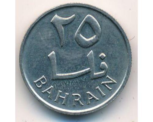 25 филсов 1965 год Бахрейн Пальма