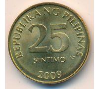 25 сентимо 2009 год Филиппины