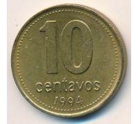 10 сентаво 1994 год Аргентина