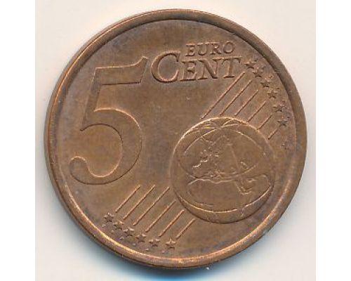5 евроцентов 2000 год Франция