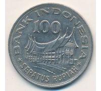 100 рупий 1978 год Индонезия. Дерево Жизни