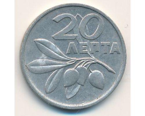 20 лепт 1973 год Греция Феникс