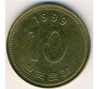 10 вон 1999 год Южная Корея