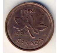 1 цент 1998 год Канада