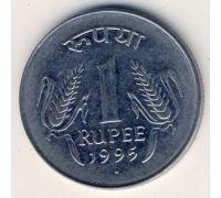 1 рупия 1995 год. Индия