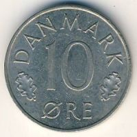 10 эре 1985 года Дания