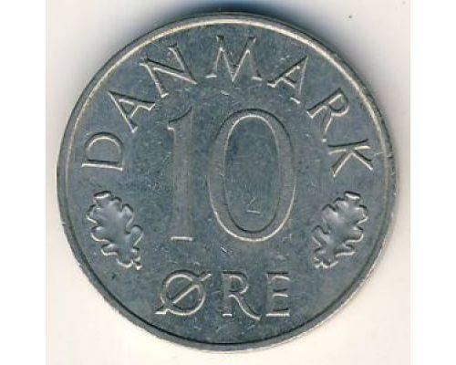 10 эре 1985 года. Дания