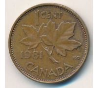 1 цент 1981 год Канада