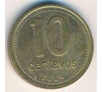 10 сентаво 2004 год Аргентина