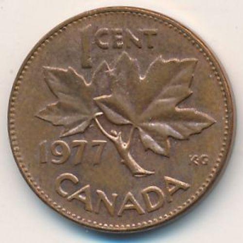 1 цент 1977 год. Канада