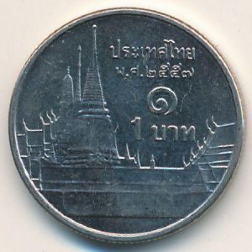 1 бат (2008–2014 г.) Таиланд