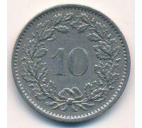 10 раппенов 1970 год Швейцария