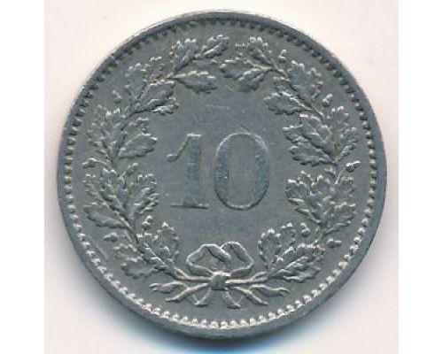 10 раппенов 2011 год Швейцария