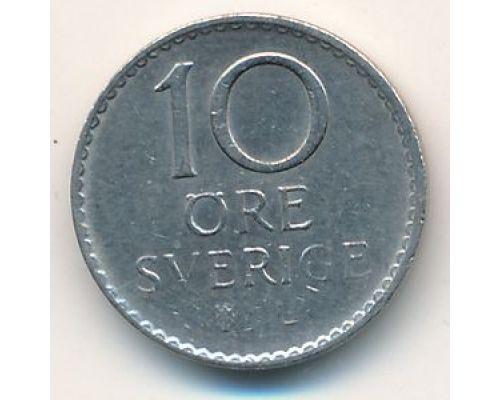 10 эре 1972 год. Швеция