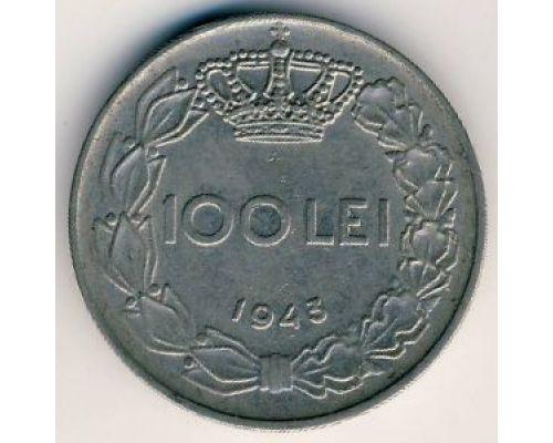 100 лей 1943 год Румыния Михай 1