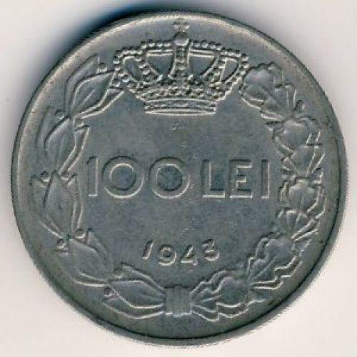 100 лей 1943 год. Румыния