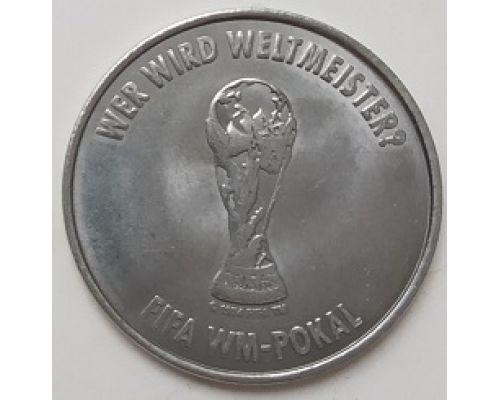 Спортивный жетон FIFA Deutschland 2006. Германия Чемпионат Мира по Футболу. WM-Pokal. Кубок