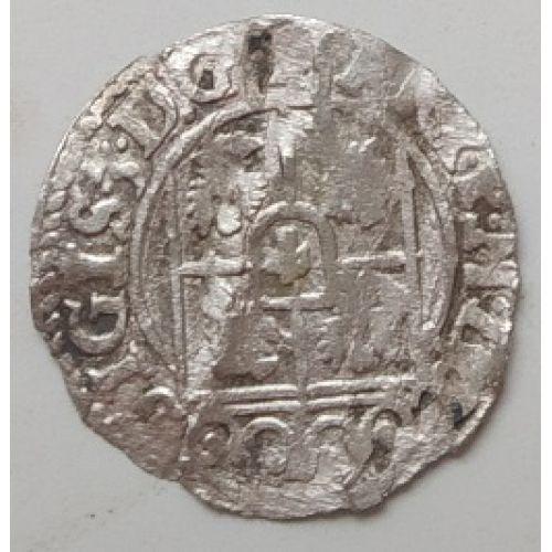 Полторак. 3 полугроша. 1,5 гроша 1623 год. Сигизмунд III Ваза Польша