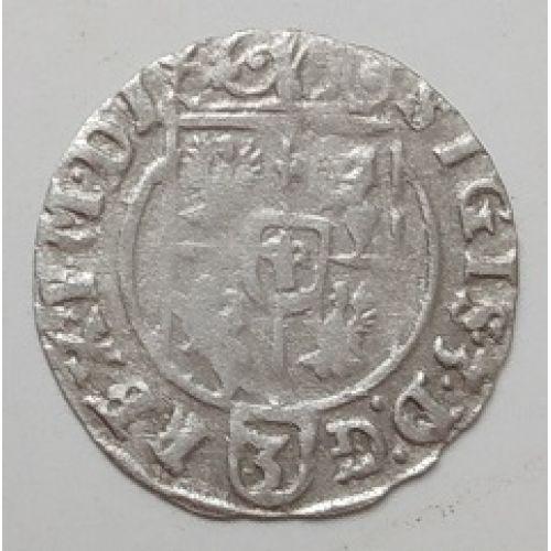 Полторак. 3 полугроша. 1,5 гроша 1625 год. Сигизмунд III Ваза Польша