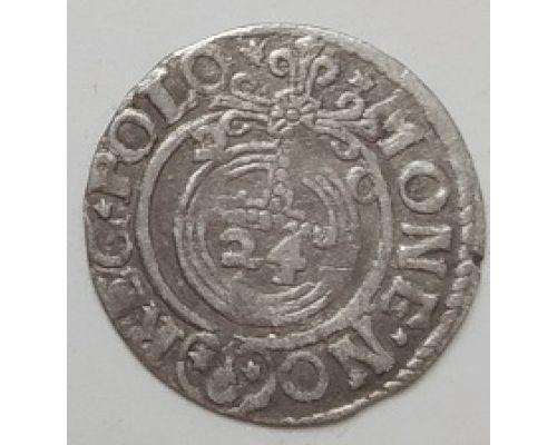 Полторак 3 полугроша 1,5 гроша 1620 год Сигизмунд III Ваза Польша